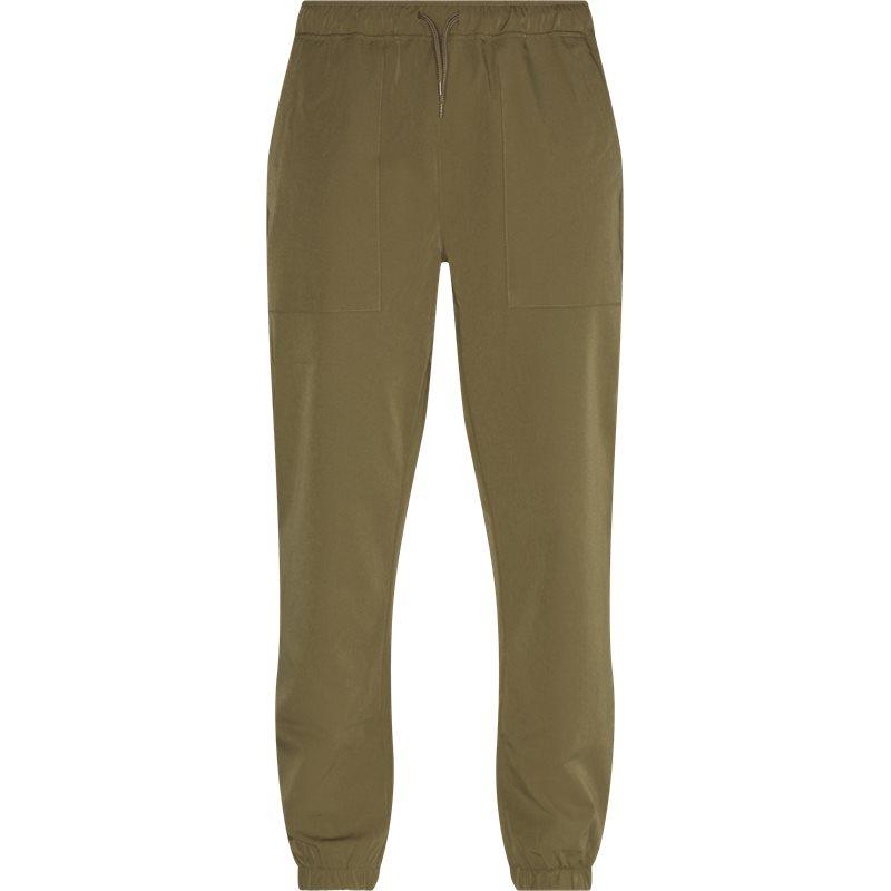 le fix Le fix loose fit pants 1802040 bukser army på quint.dk