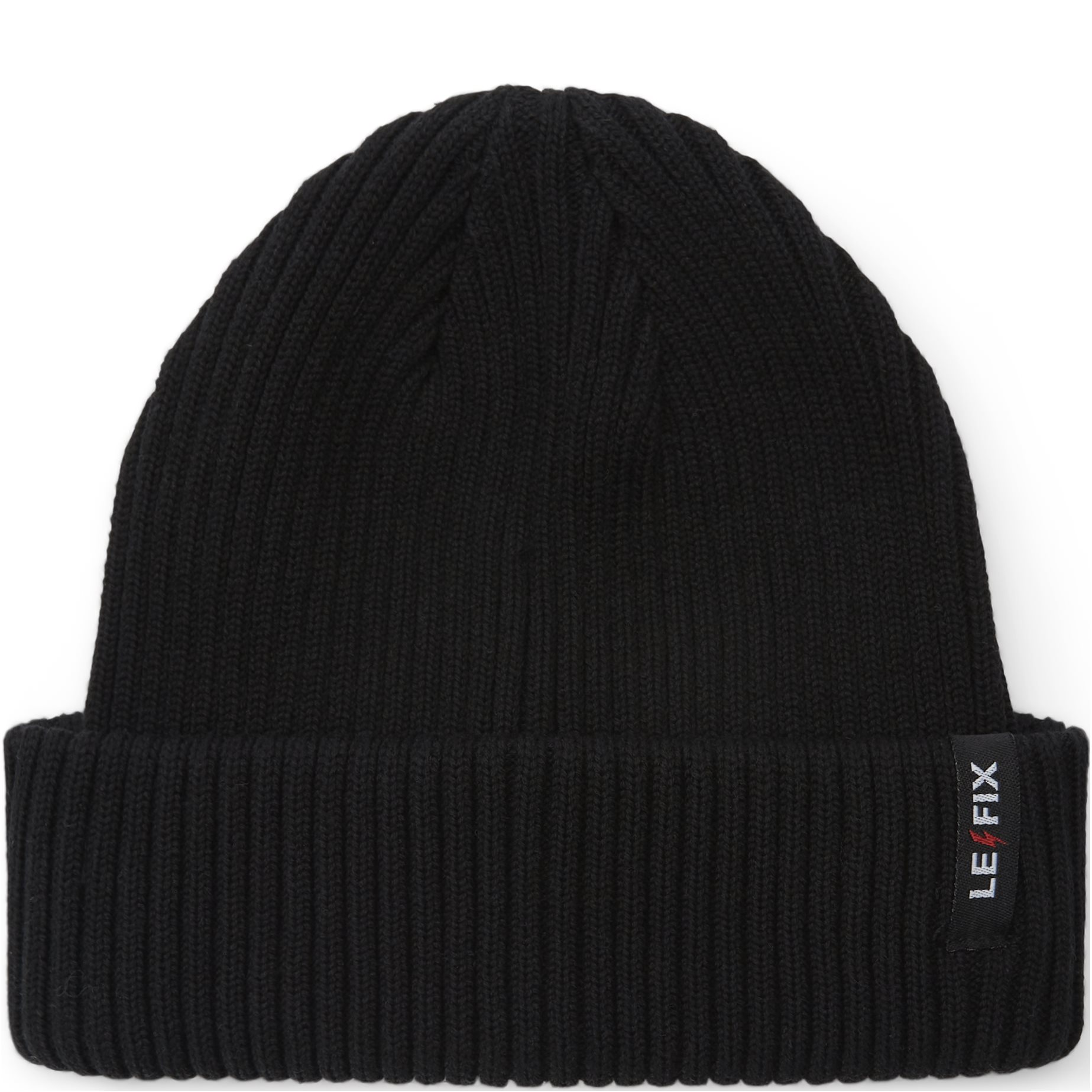 Cotton Sailor Beanie - Huer - Sort