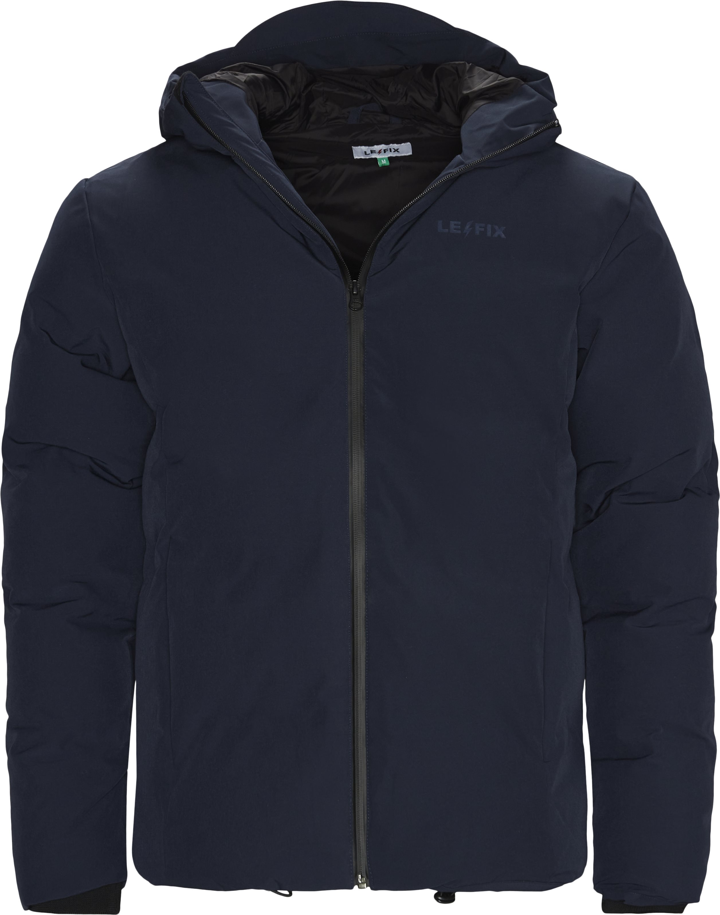 Puffer Jacket - Jakker - Regular - Blå