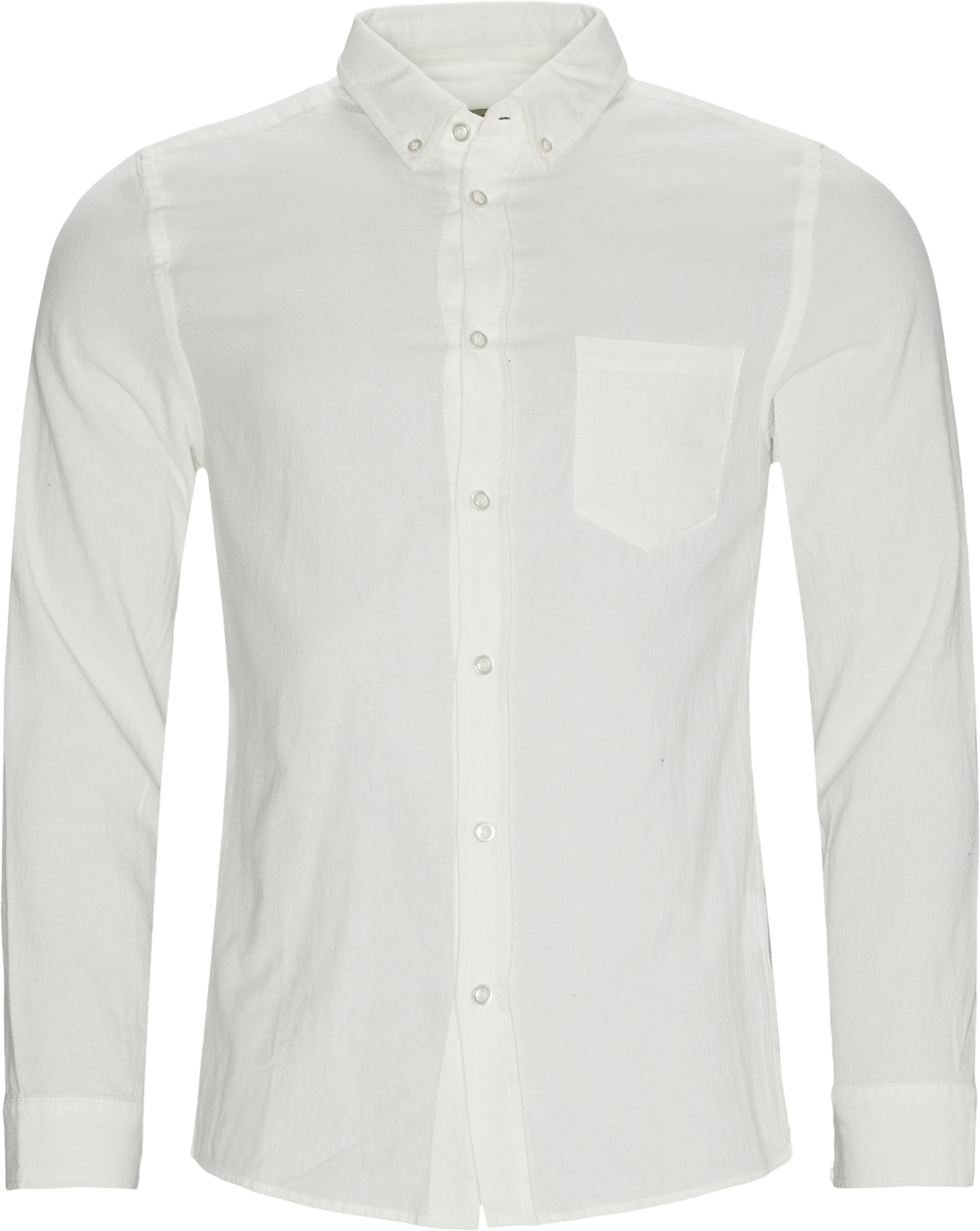 Lagos Shirt - Skjortor - Regular - Vit