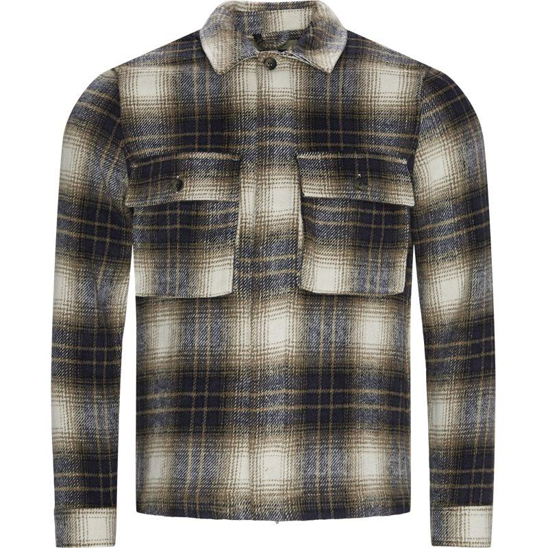 Legends monterey wool 241-05-320 skjorter sand fra legends fra quint.dk