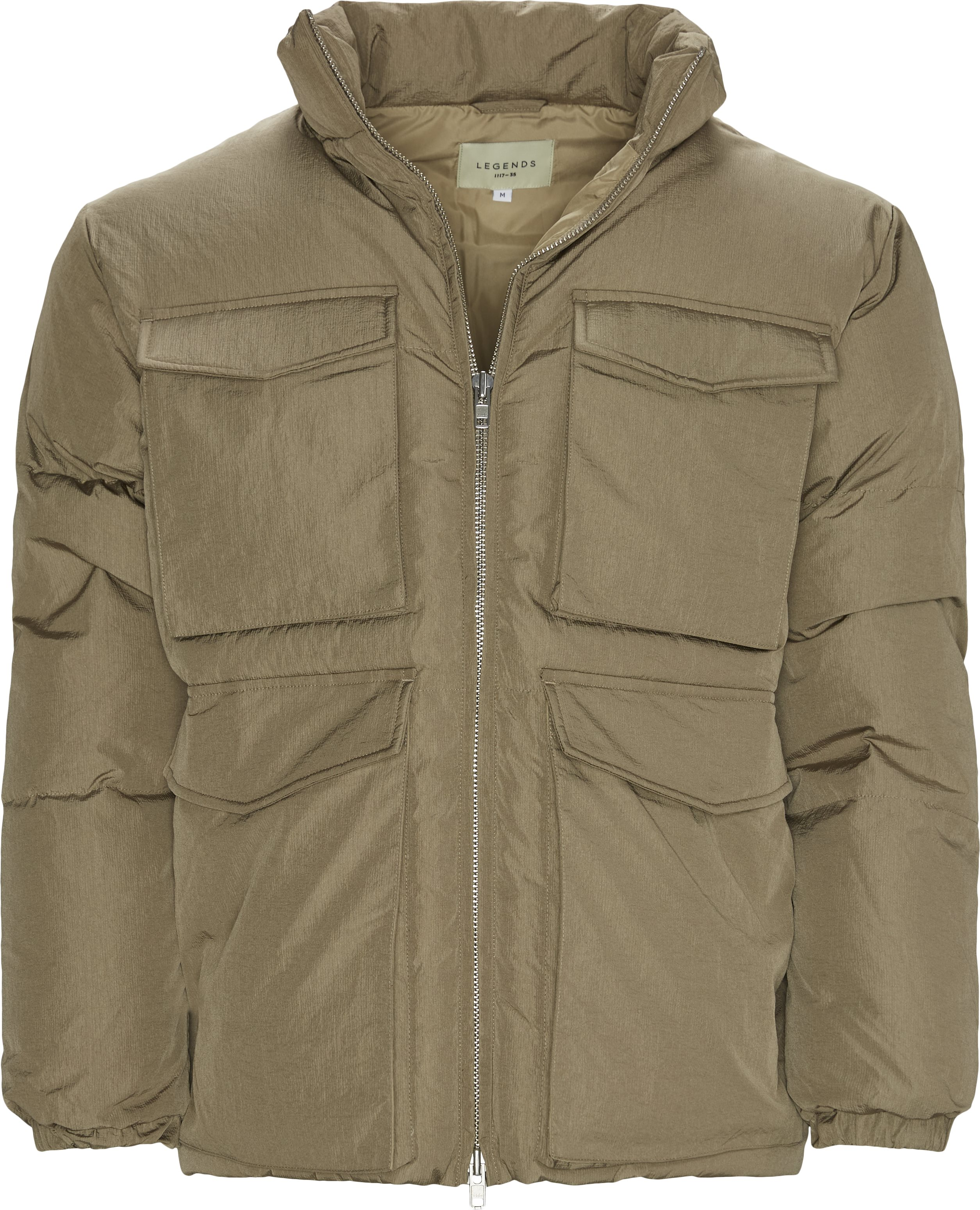Laudo Puffer Jacket - Jackets - Regular - Sand