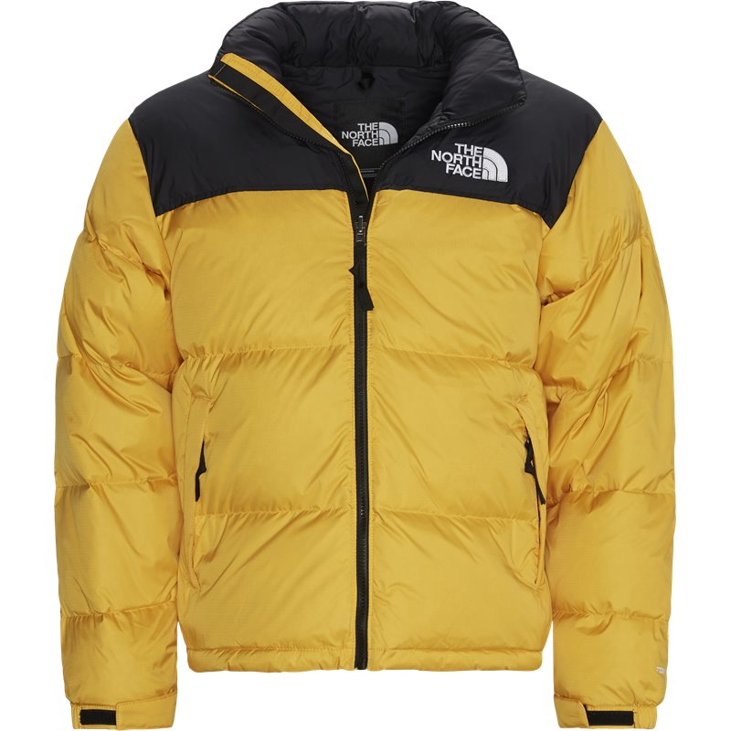 The north face 1996 nuptse nf0a3c8d jakker gul fra the north face fra quint.dk