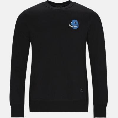 Regular fit | Sweatshirts | Black