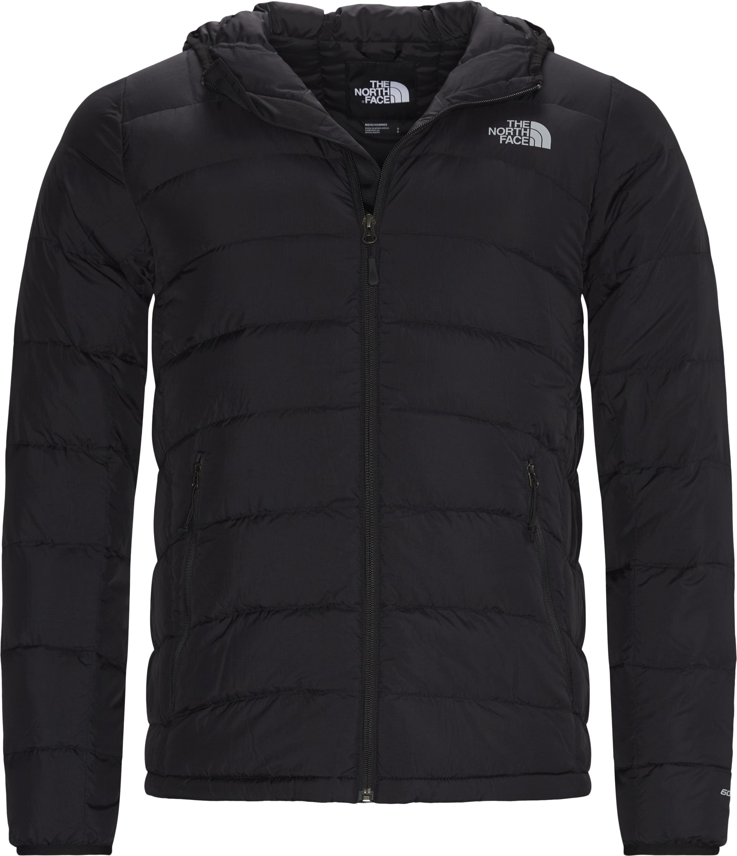 La Paz Hooded Down Jacket - Jackets - Regular - Black