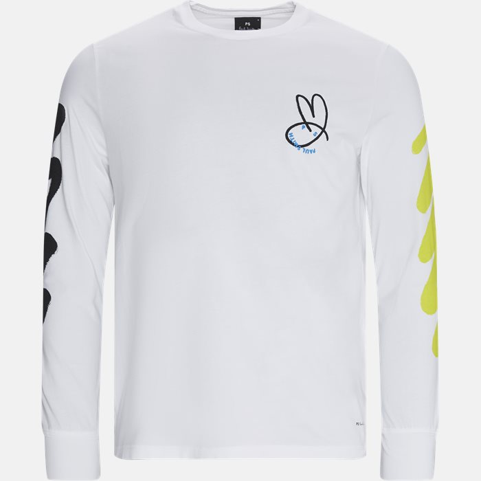 Long-sleeved t-shirts - White