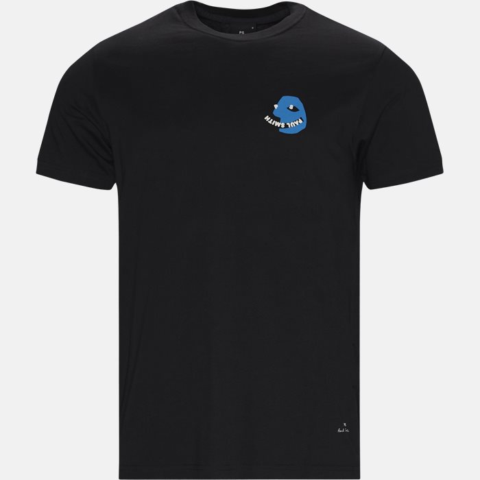 T-shirts - Regular fit - Black