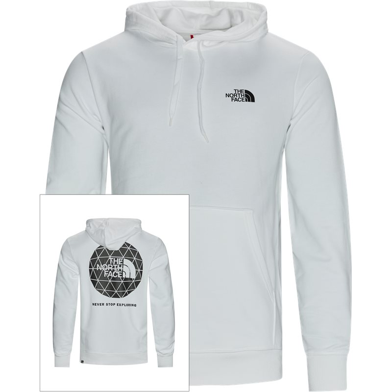 The north face geodome hoodie hvid fra the north face på quint.dk
