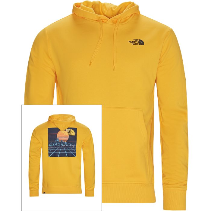 THROWBACK Hoodie - Sweatshirts - Regular - Gul