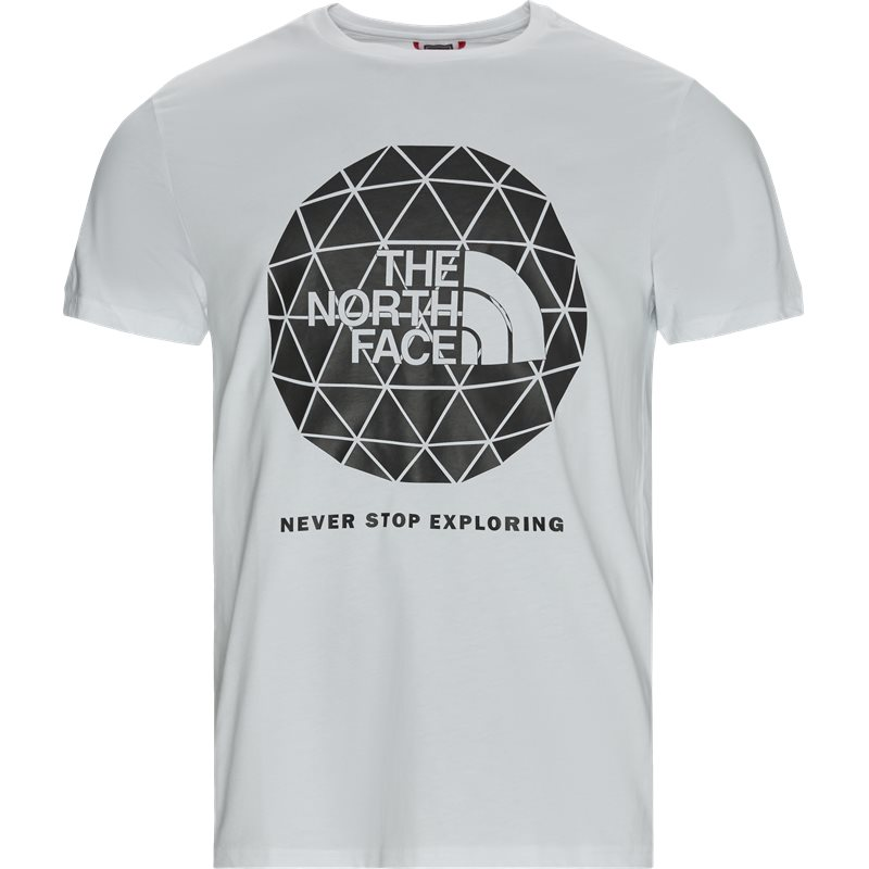 The north face geodome tee hvid fra the north face fra quint.dk