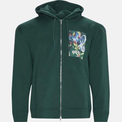 Regular fit | Sweatshirts | Grøn