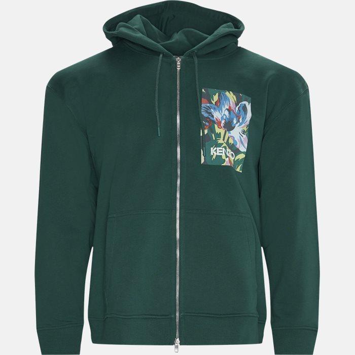 Sweatshirts - Regular fit - Grøn
