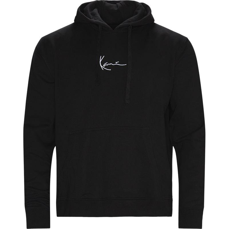 Karl kani small signature hoodie kkmq12006 sweatshirts sort fra karl kani på quint.dk