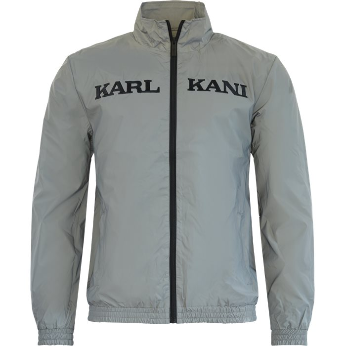 Retro Reflective Trackjacket - Sweatshirts - Regular - Silver