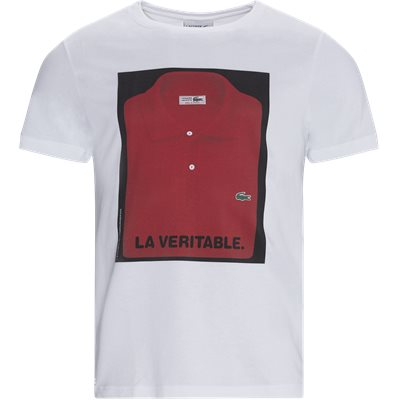 Crew Neck Iconic Polo Print T-shirt Regular | Crew Neck Iconic Polo Print T-shirt | Hvid