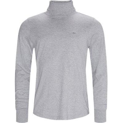 LS Turtleneck T-shirt Modern fit |  LS Turtleneck T-shirt | Grå