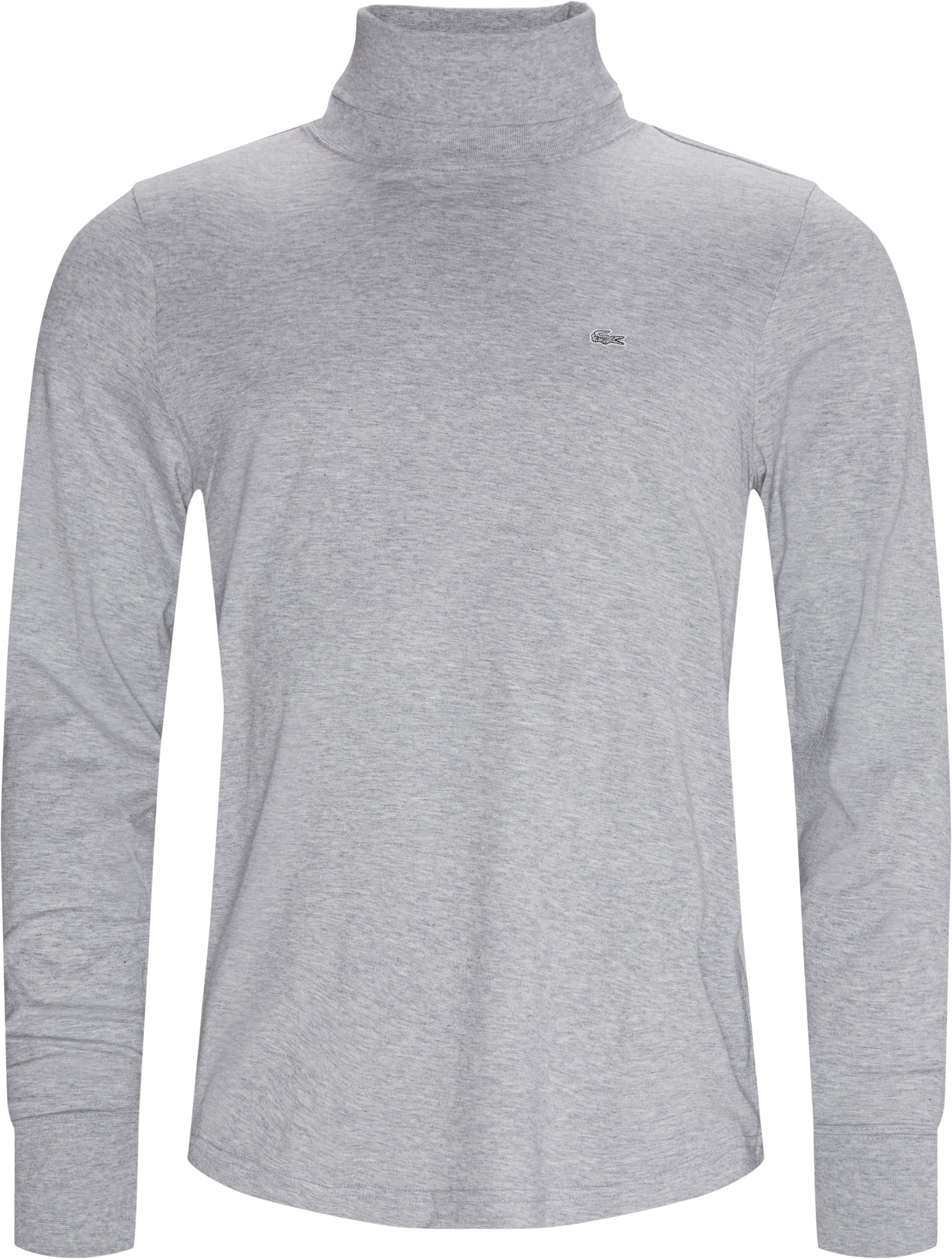 LS Turtleneck T-shirt - T-shirts - Modern fit - Grey