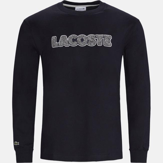 Badge Thick Cotton LS T-shirt