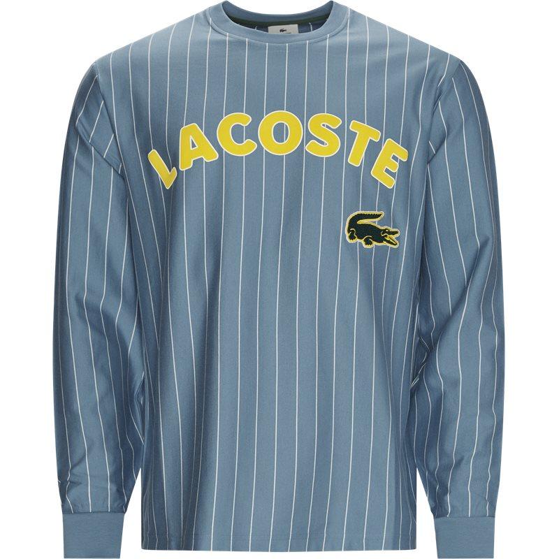 Lacoste th1294 t-shirts blå fra lacoste på quint.dk