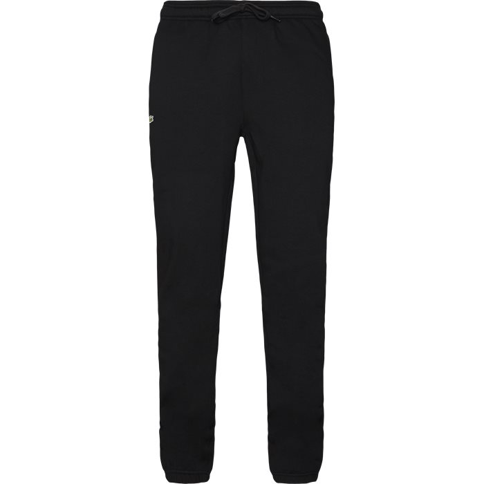 Tennis Fleece Sweatpant - Bukser - Regular - Sort