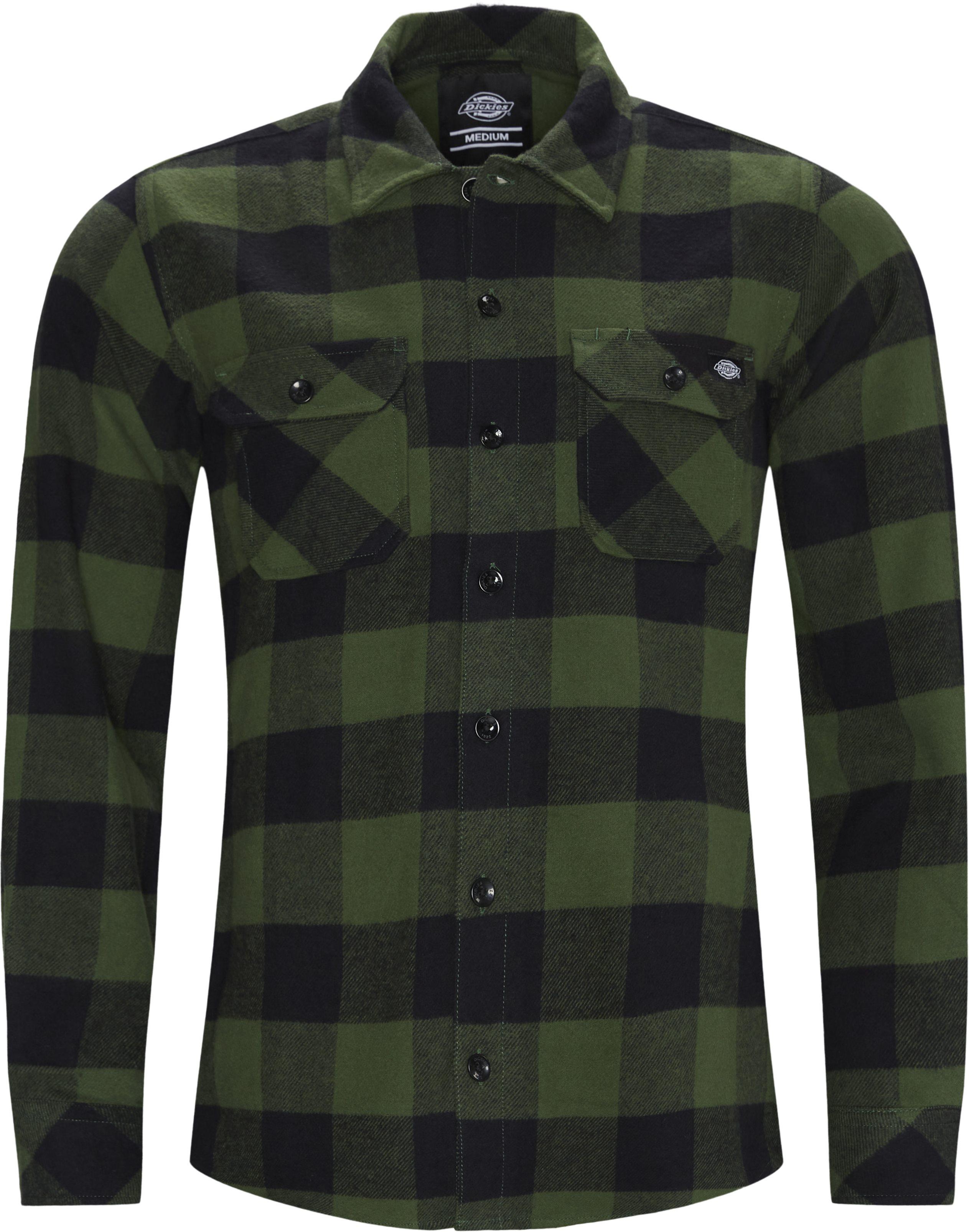 Shirts - Regular - Green