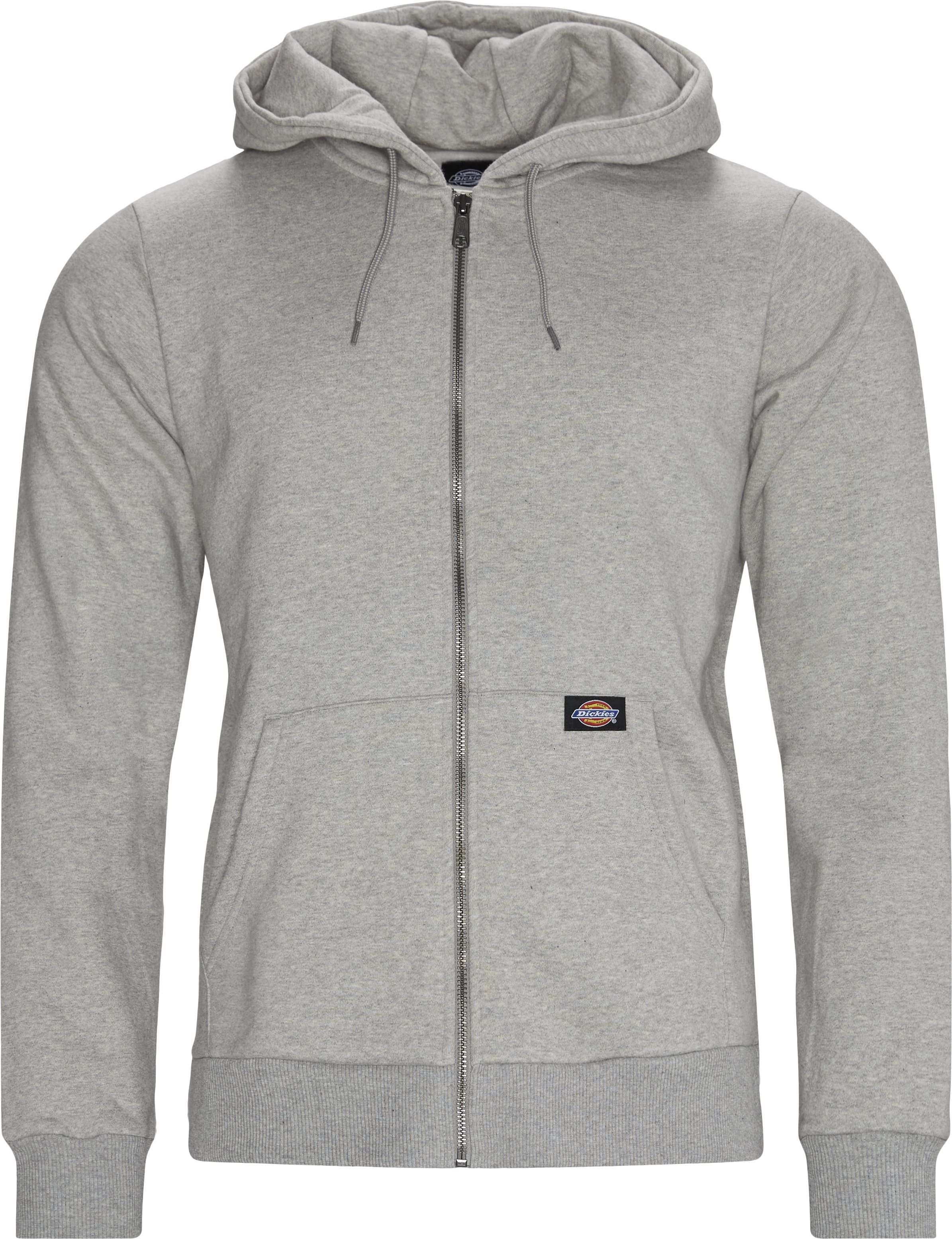 NEW KINGSLEY Hoodie - Sweatshirts - Regular - Grå