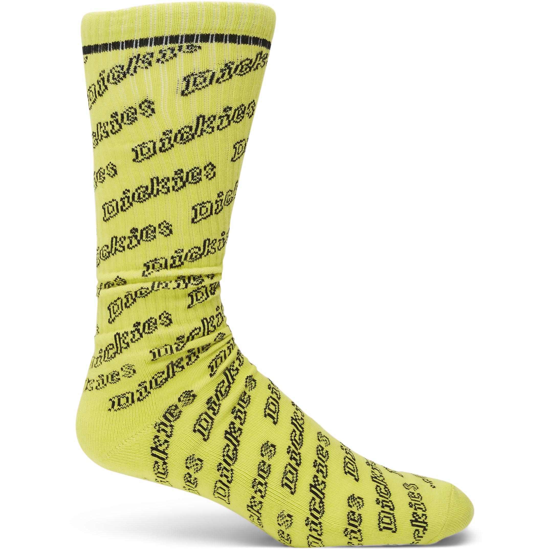 1-Pack Dubberly Socks - Strumpor - Gul