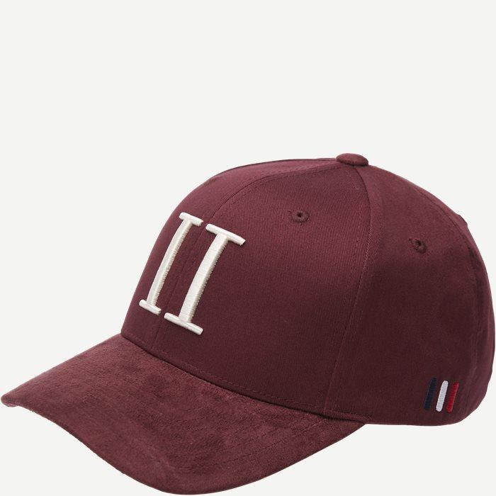 Baseball Cap Suede II - Caps - Bordeaux