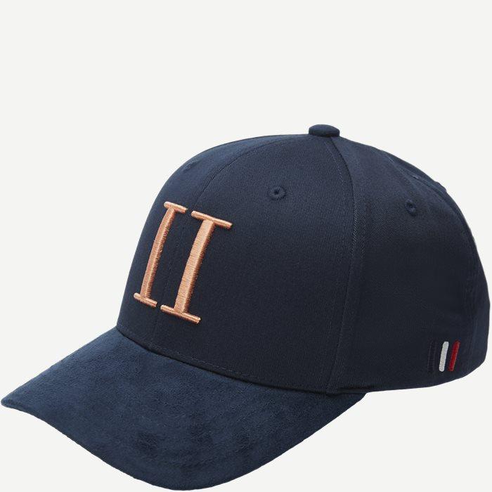 Baseball Cap Suede II - Caps - Blå
