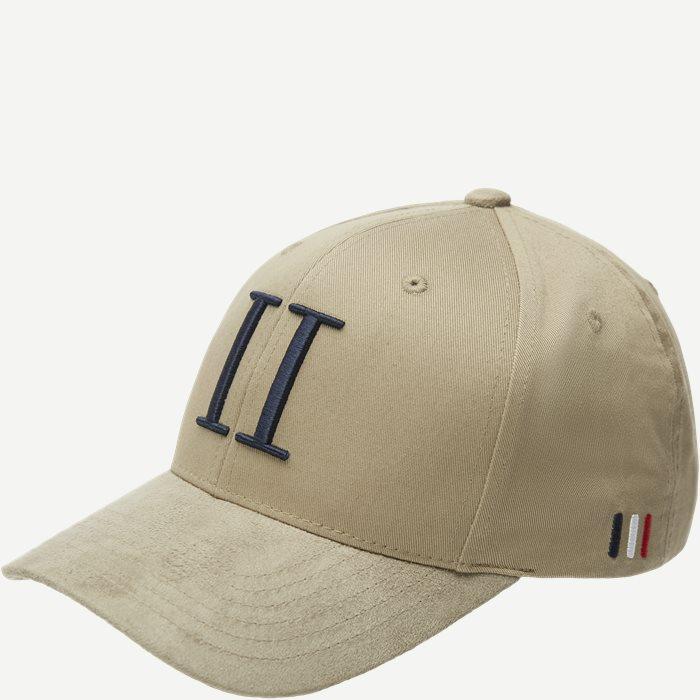 Baseball Cap Suede II - Caps - Sand