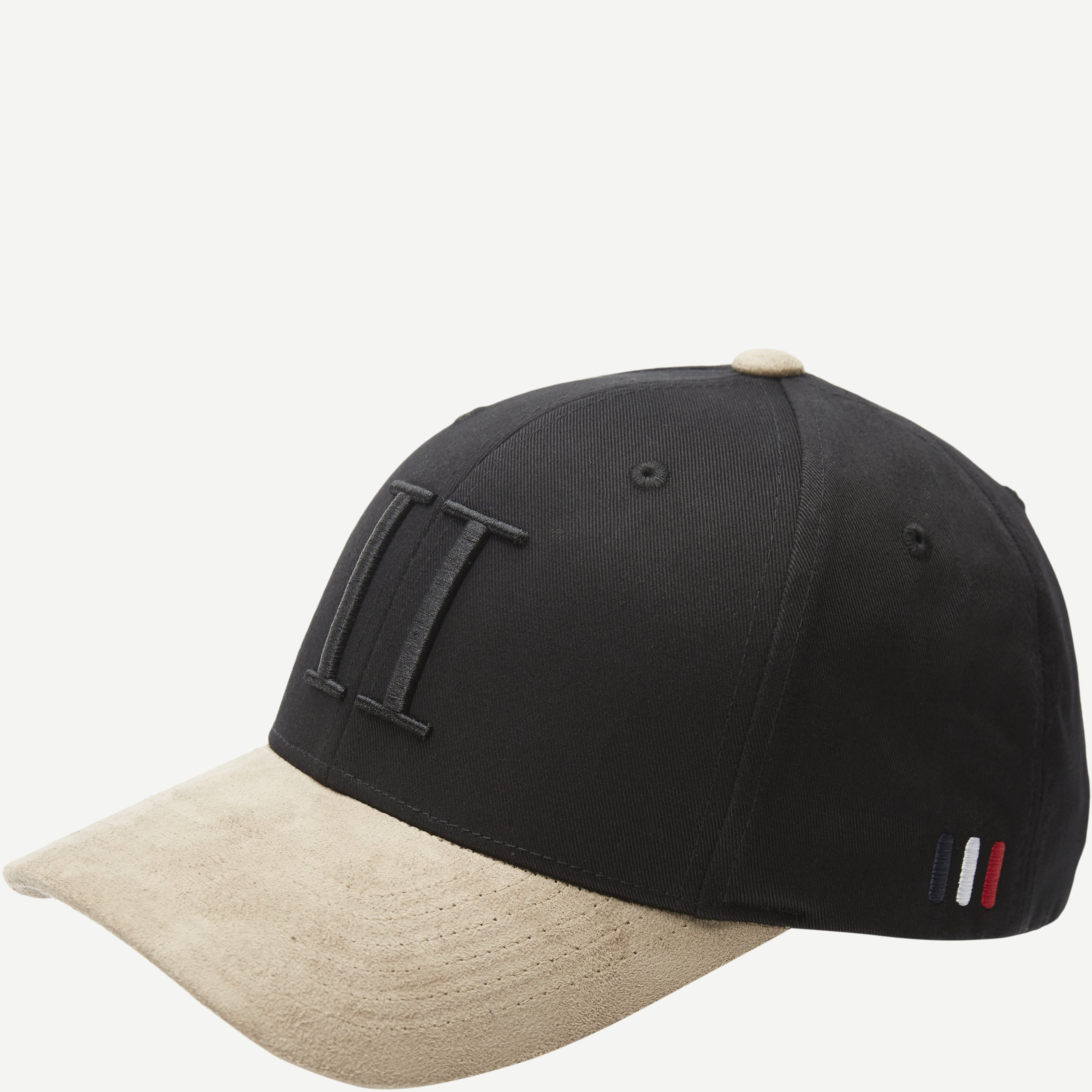 Baseball Cap Suede II - Caps - Sort