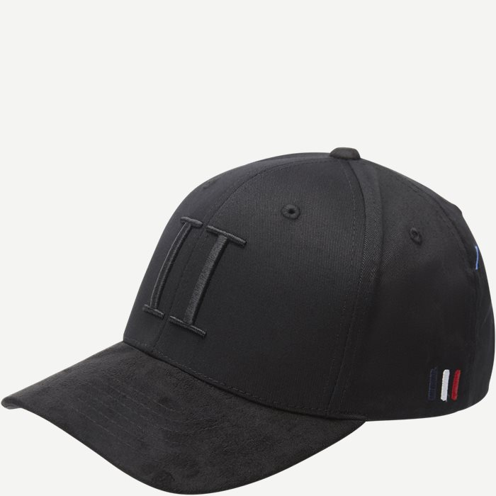 Baseball Cap Suede II - Caps - Sort
