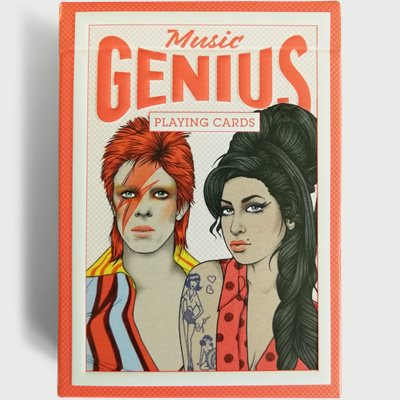 Music Genius Playing Cards Music Genius Playing Cards | Hvid