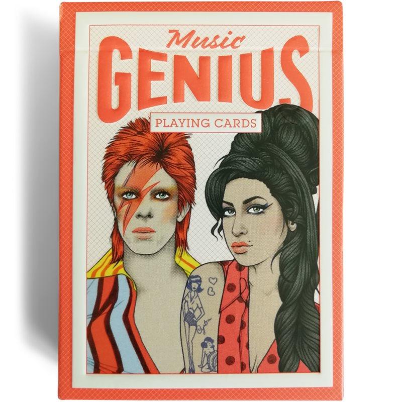 Men's Society - Music Genius Playing Cards