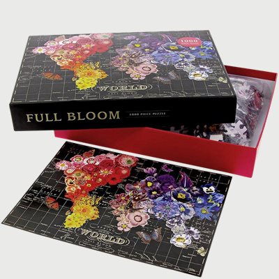 Full Bloom - 1000 Piece Puzzle Full Bloom - 1000 Piece Puzzle | Sort
