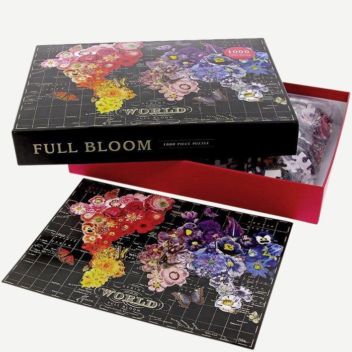 Full Bloom - 1000 Piece Puzzle - Accessories - Sort