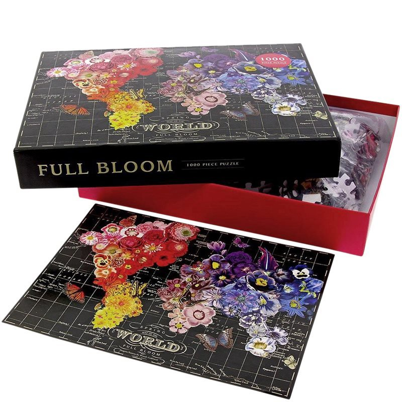 new mags – New mags - full bloom - 1000 piece puzzle på kaufmann.dk