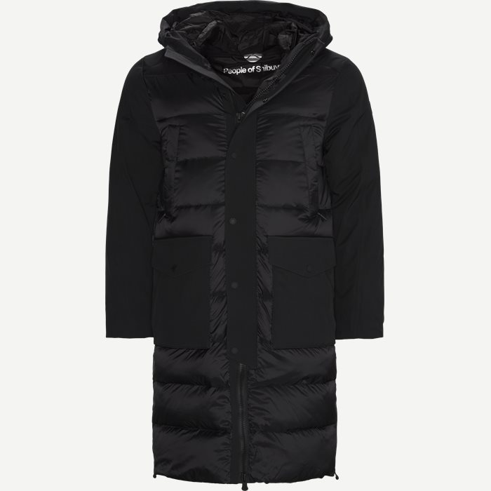 Ryo Down Jacket - Jakker - Tailored fit - Sort