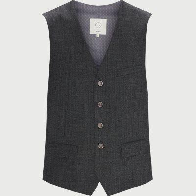 Wesley Vest Slim fit | Wesley Vest | Grå