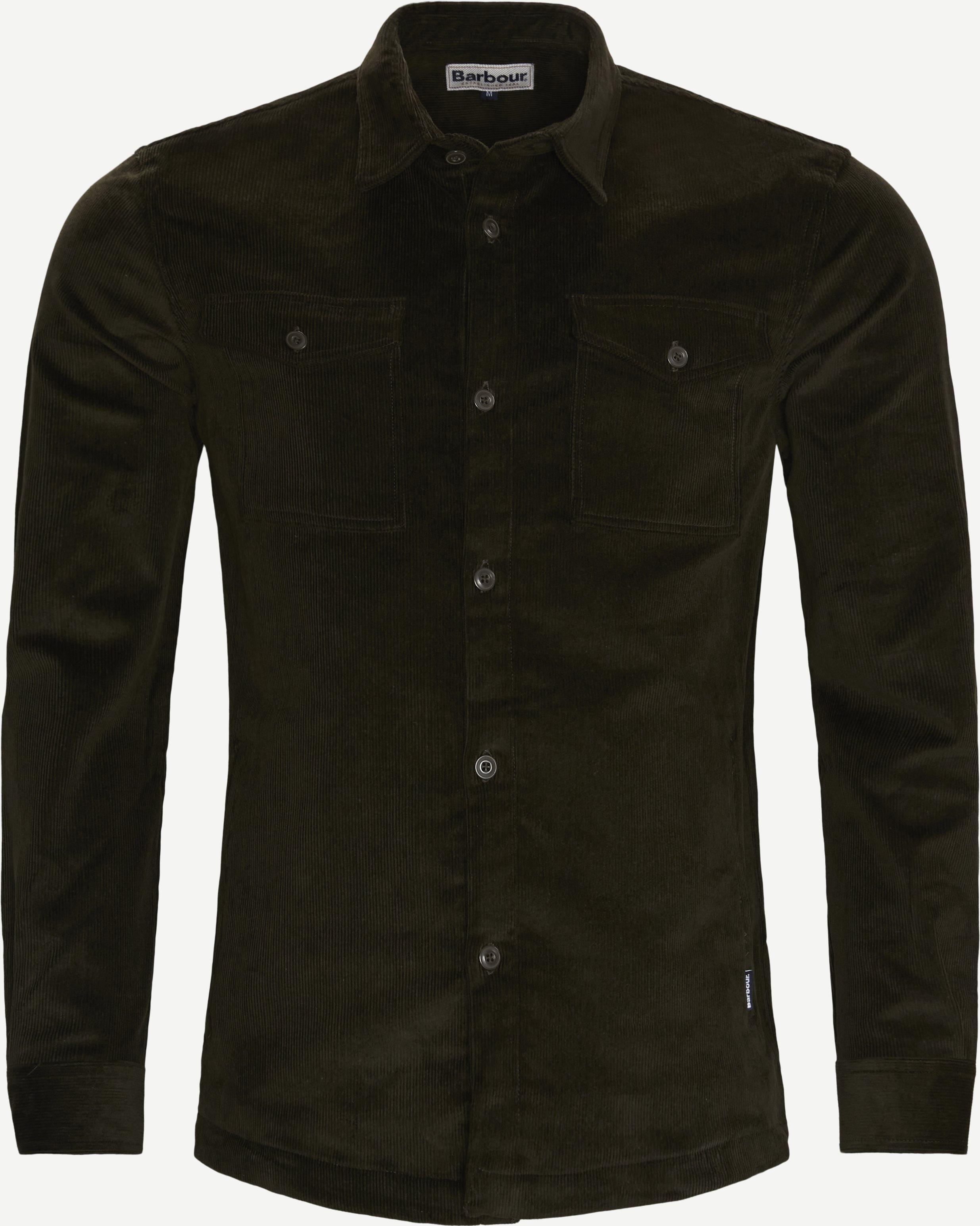 Cord Overshirt - Skjortor - Regular - Armé