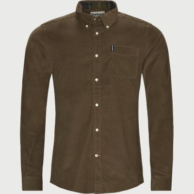 Tailored fit | Shirts | Brown