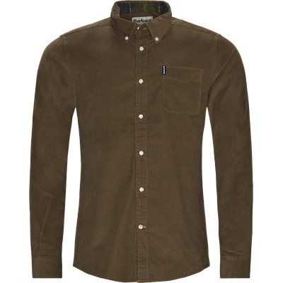 Cord 2 Skjorte Tailored fit | Cord 2 Skjorte | Brun