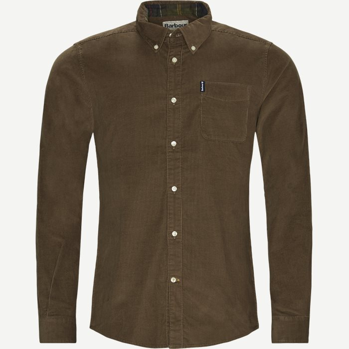 Shirts - Tailored fit - Brown