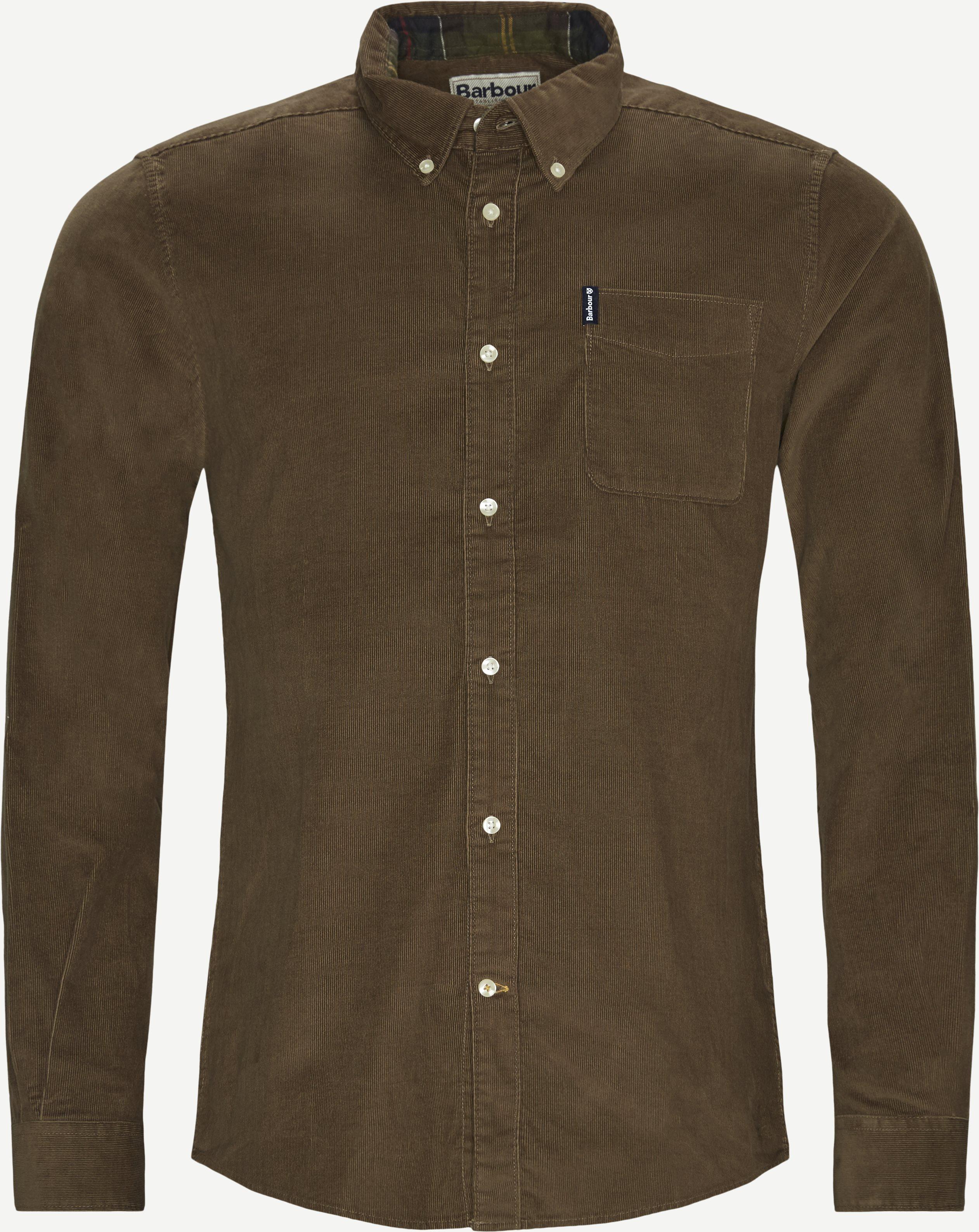 Cord 2 Skjorte - Skjorter - Tailored fit - Brun