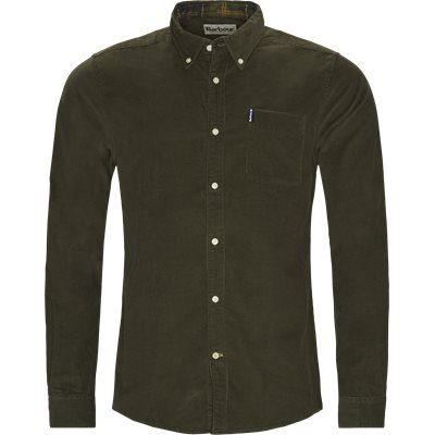 Cord 2 Skjorte Tailored fit | Cord 2 Skjorte | Army