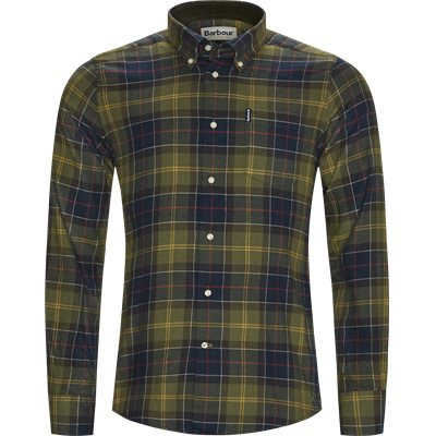 Tartan 3 Skjorte Tailored fit | Tartan 3 Skjorte | Army