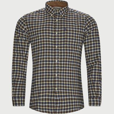 Country Check Skjorte Tailored fit | Country Check Skjorte | Brun