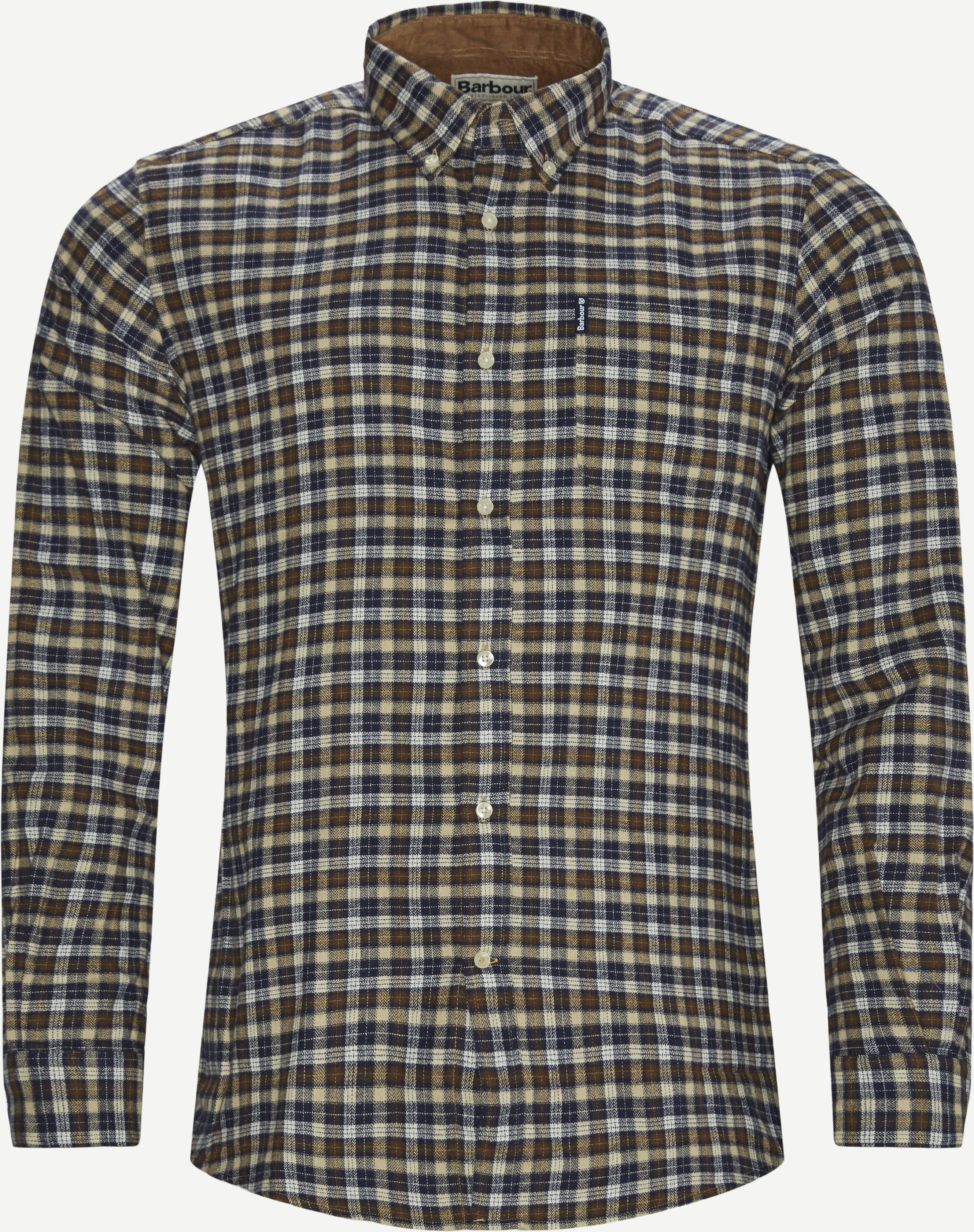Hemden - Tailored fit - Braun
