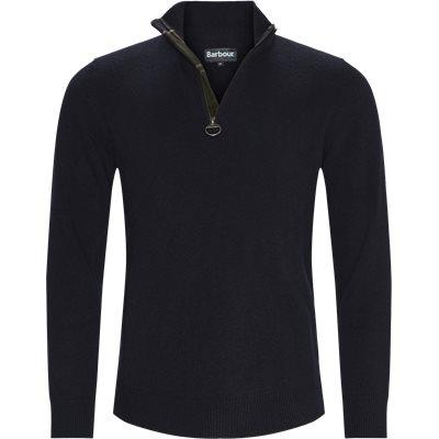 Holden Half Zip Knit Regular | Holden Half Zip Knit | Blå