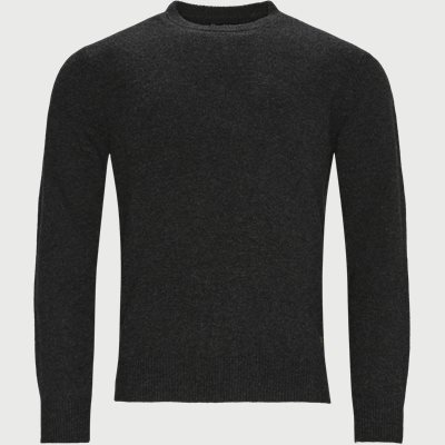 Patch Crew Knit Regular | Patch Crew Knit | Grå